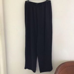 EILEEN FISHER SILK PANTS